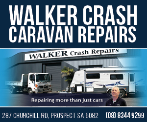 Walker Crash Caravan Repairs